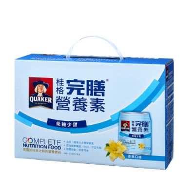 桂格完膳營養素香草口味低糖少甜250ml×8入