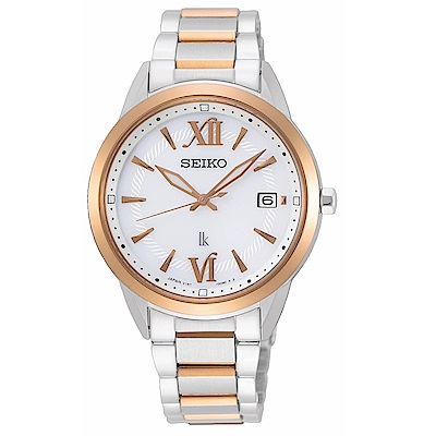 SEIKO LUKIA優雅時尚廣告款太陽能腕錶V147-0CL0KS/SUT390J1