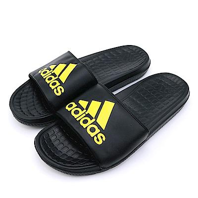 ADIDAS-男女涼拖鞋BB0520-黑