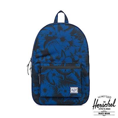 Herschel Settlement 後背包-藍黑色花紋