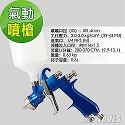 良匠工具 輕量 不鏽鋼 氣動噴槍 噴漆槍 台灣製造 外銷高品質 有保固