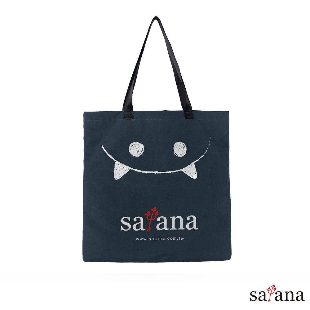 satana - Soldier 小惡魔購物袋 - 午夜藍