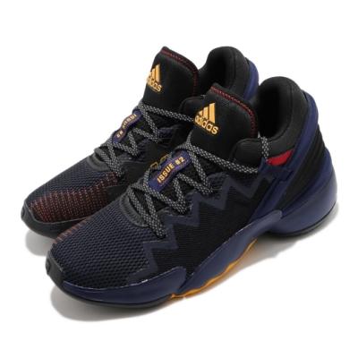 adidas 籃球鞋 DON Issue 2 GCA 男鞋 愛迪達 Mitchell 運動 反光 球星 藍 黃 FX7428