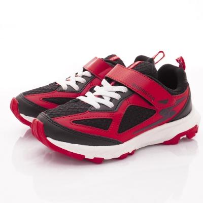 日本月星頂級競速童鞋 耐久系列運動鞋 NI282紅(中大童段)