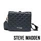 STEVE MADDEN-BCELINE 方形金飾菱格紋手提斜背兩用包-黑色 product thumbnail 1