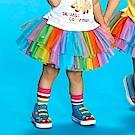 WHY AND 1/2 mini 彩色亮蔥網紗短裙 1Y~4Y
