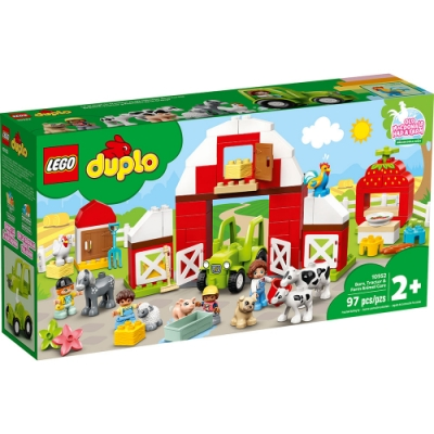 樂高LEGO Duplo幼兒系列 - LT10952 農場動物照護中心豪華組
