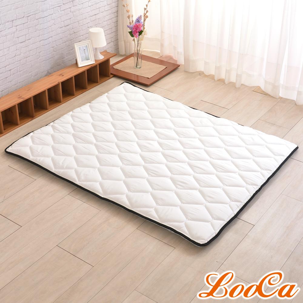 (雅虎限定)LooCa 3M防潑水技術-超厚8cm兩用日式床墊-雙人5尺