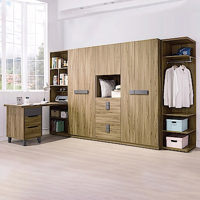 AS-卡瑞莎10.5尺系統式衣櫥-318x60x197cm