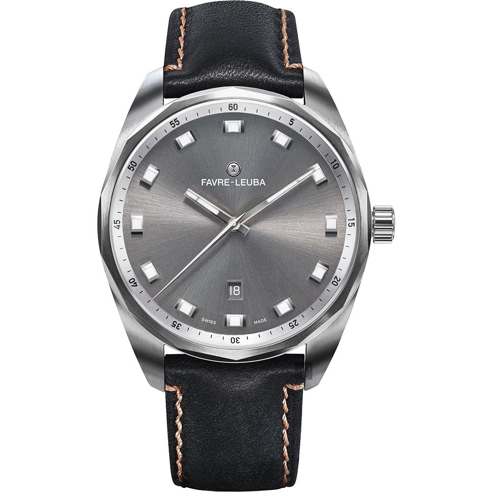 Favre-Leuba 域峰錶 SKY CHIEF DATE都會紳士機械手錶