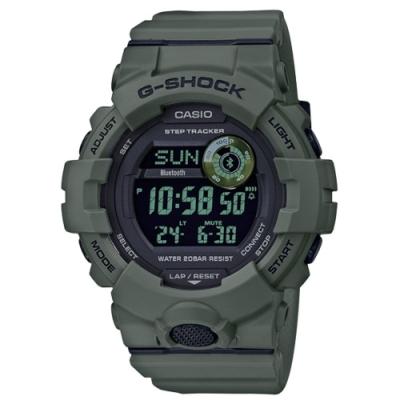 CASIO卡西歐 新款藍芽連線運動錶(GBD-800UC-3D)