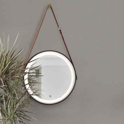 H&R安室家 里昂皮帶 智能LED發光觸控燈鏡 ZA0200(掛鏡/浴鏡/化妝鏡/鏡子)