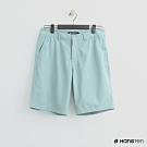 Hang Ten - 男裝 - 素色純面棉質短褲 - 藍