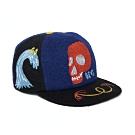 Deus Goofy Smile Cap 棒球帽 - 藍(男)