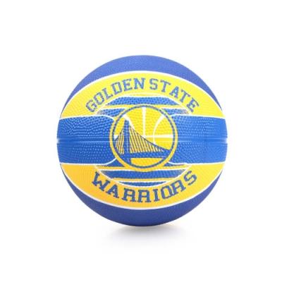 SPALDING 兒童-勇士 Warriors SZ3 籃球 藍黃