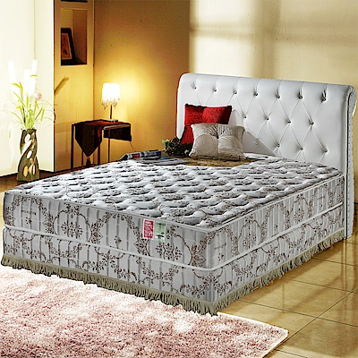 MG珍寶-超涼感抗菌-乳膠蜂巢獨立筒床墊-雙人加大6尺-護腰床