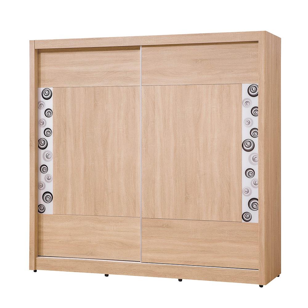 H&D 橡木7X7推門衣櫥