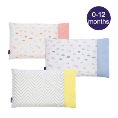 奇哥 ClevaMama 防扁頭嬰兒枕-專用枕套1入(3色選擇)