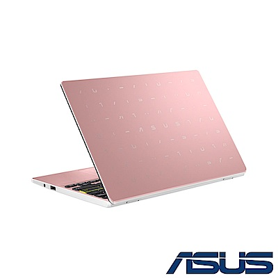 ASUS E210MA 11.6吋筆電 (N4020/4G/64G eMMC/Win10 HOME S模式/LapTop/玫瑰金)