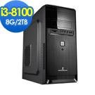 華碩B360平台[鋼鐵少年]i3四核OPTANE效能Win10電腦