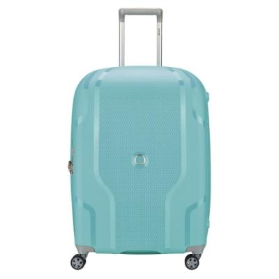 【DELSEY】CLAVEL-25吋旅行箱-藍綠色 00384582022