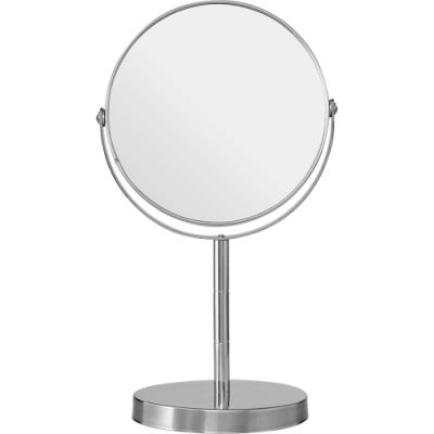 《Premier》雙面高腳桌鏡(銀26cm)