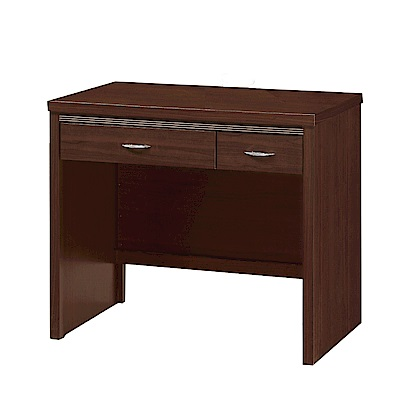 綠活居 妙莉3尺木紋書桌/電腦桌(二色)-90.3x57.6x78.5cm-免組