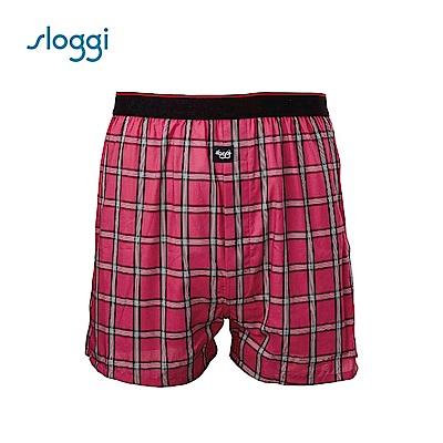 sloggi men 寬鬆系列Vacation 男士寬鬆平口褲 福氣紅 RG918718R9