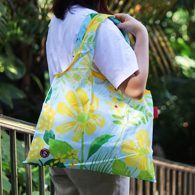 日本Prairie Dog 設計包/環保袋/購物袋/手提袋 - 春花漾