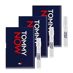 Tommy Hilfiger Tommy NOW 即刻實現噴式淡香水針管1.5mlX3