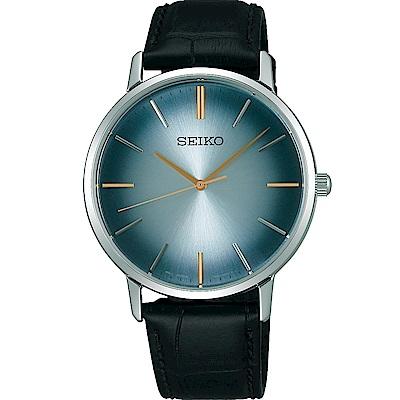 SEIKO精工SPIRIT極簡漸層時尚腕錶(SCXP125J)-藍色