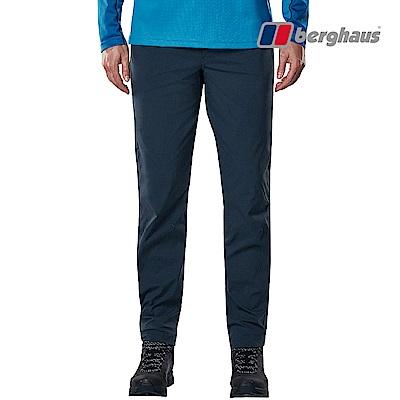 【Berghaus貝豪斯】男款輕量彈性長褲S07M05-藍