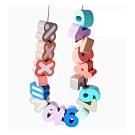經典木玩 馬卡龍繽紛大顆海洋農場串珠玩具(兒童串珠玩具)36m+