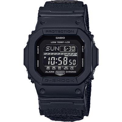 G-SHOCK 極限運動輕巧耐用數位錶-全黑(GLS-5600WCL-1D)/43mm