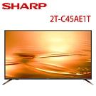 SHARP夏普 45吋 智慧連網顯示器 2T-C45AE1T