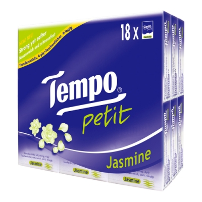 Tempo紙手帕-茉莉花 7抽x18包/組