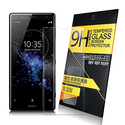 NISDA for SONY  XPERIA XZ2 鋼化 9H玻璃保護貼