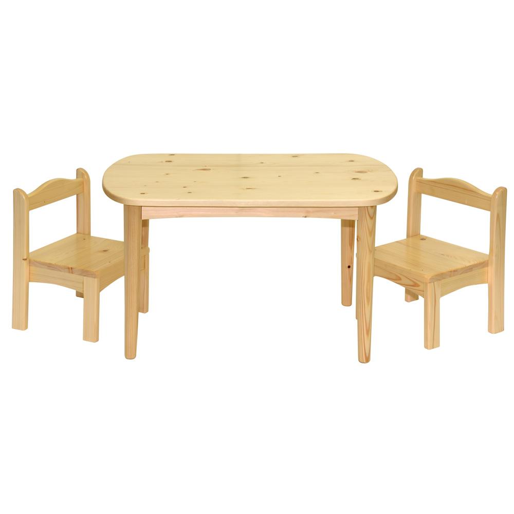 雲杉兒童桌椅組(1桌2椅) 學習桌椅組 實木 和室桌椅 休閒桌椅