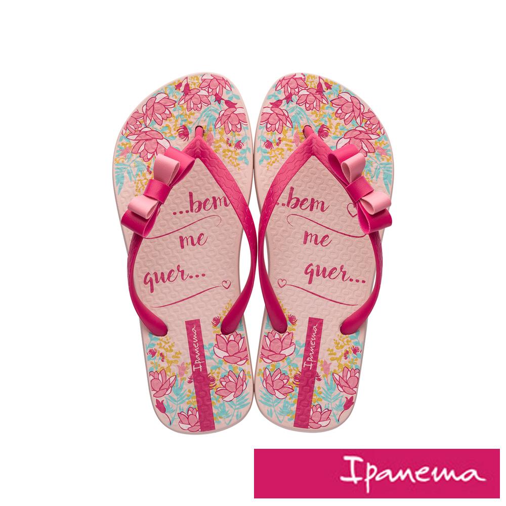 IPANEMA 花漾蘿莉人字拖鞋-粉色