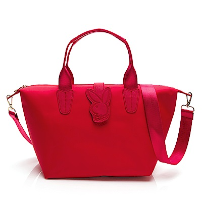 PLAYBOY-手提包 輕亮夏日系列 -紅色