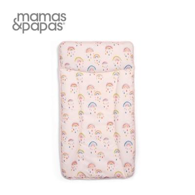 【Mamas & Papas】尿布墊-彩虹雨點點
