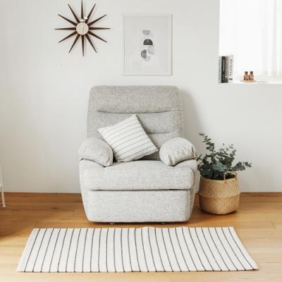 完美主義 簡約可躺式單人電動沙發/布沙發/單人座/單人沙發/沙發床
