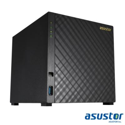 【促銷組合】ASUSTOR華芸 AS1004T v2 網路儲存伺服器+WD 4TB*4