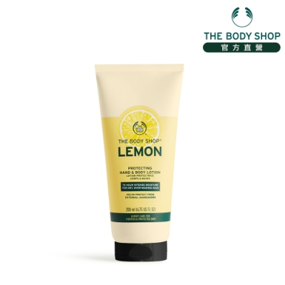 The Body Shop 檸檬清新淨化手部&身體潤膚乳 -200ML