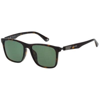 POLICE 偏光 太陽眼鏡 (琥珀色)SPLA32J