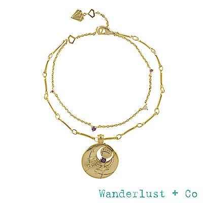 Wanderlust+Co 生日石系列 BIRTHSTONE手鍊 二月February