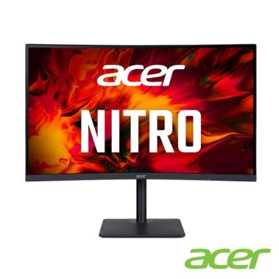Acer XZ273U X 27型VA 2K曲面電競螢幕 支援FreeSync Premium 0.5ms 240Hz