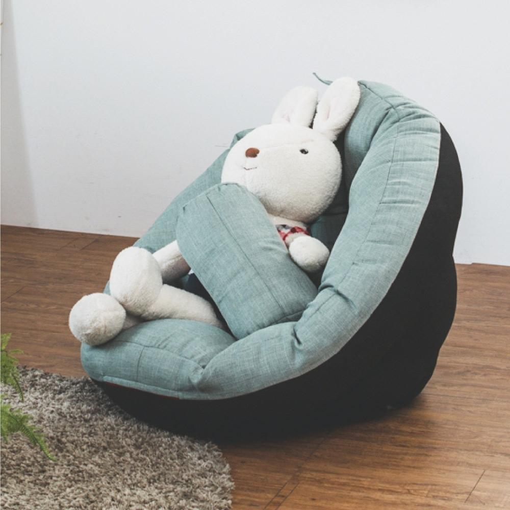 Home Feeling 第二代多功能包覆和室椅/懶骨頭/沙發椅(6色)-75x75x57cm