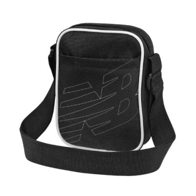 New Balance 斜背包 Crossbody Shoulder Bag 紐巴倫 外出 輕便 小包 背帶可調 黑 白 LAB93008BK