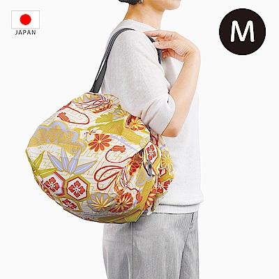 【日本Marna】Shupatto 秒收摺疊環保袋 (M) 鞠球